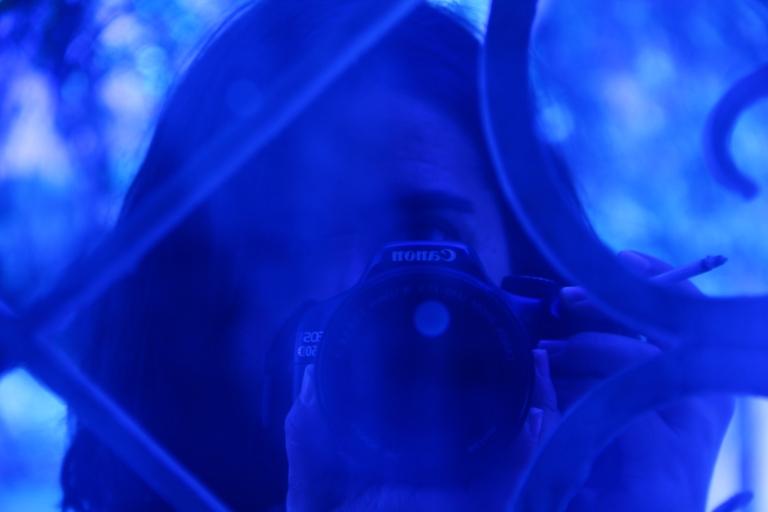DF en azul